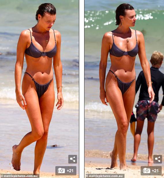 Mê mẩn ngắm body đẹp như tạc tượng của siêu mẫu Montana Cox với bikini ảnh 3