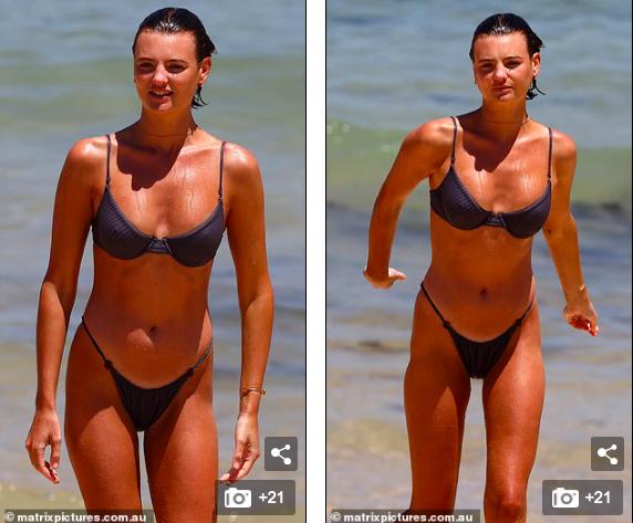 Mê mẩn ngắm body đẹp như tạc tượng của siêu mẫu Montana Cox với bikini ảnh 4