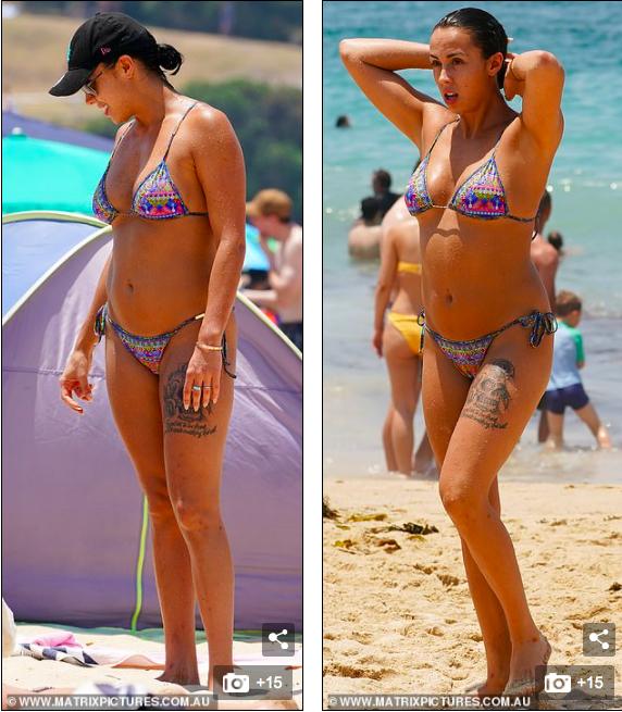 Natasha Spencer cực 'bốc lửa' ở biển với bikini ảnh 5