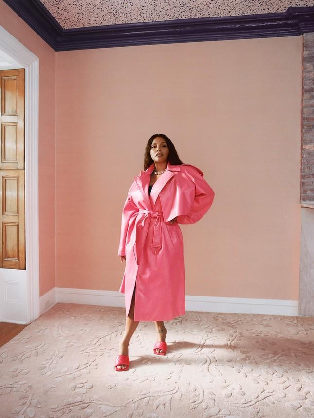 Sắc vóc nóng bỏng của người mẫu ngoại cỡ Paloma Elsesser ảnh 4
