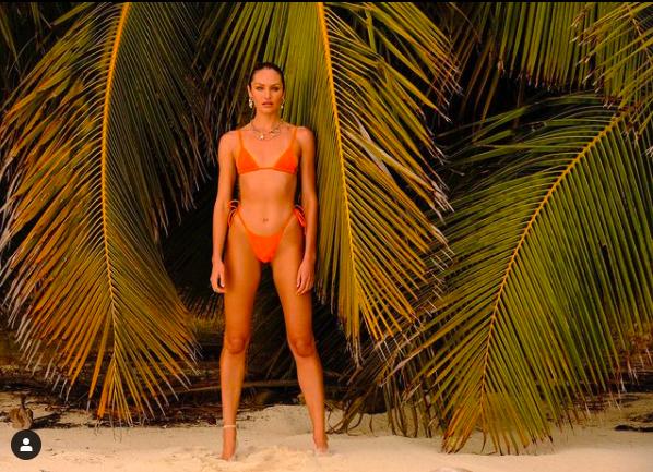 Candice Swanepoel khoe đường cong tuyệt mỹ trong bộ sưu tập áo tắm mới ảnh 1