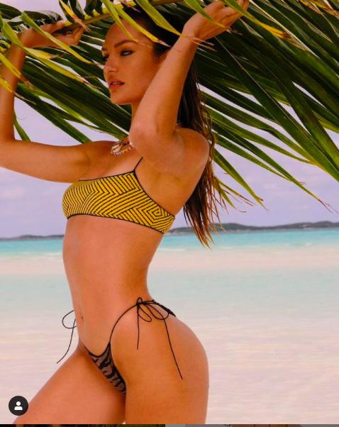 Candice Swanepoel khoe đường cong tuyệt mỹ trong bộ sưu tập áo tắm mới ảnh 2