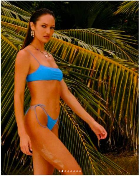 Candice Swanepoel khoe đường cong tuyệt mỹ trong bộ sưu tập áo tắm mới ảnh 6