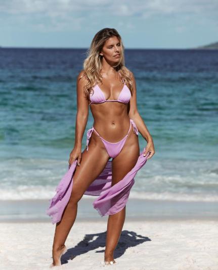 Mỹ nhân Úc trình diễn bikini phô đường cong 'nảy lửa' ảnh 1