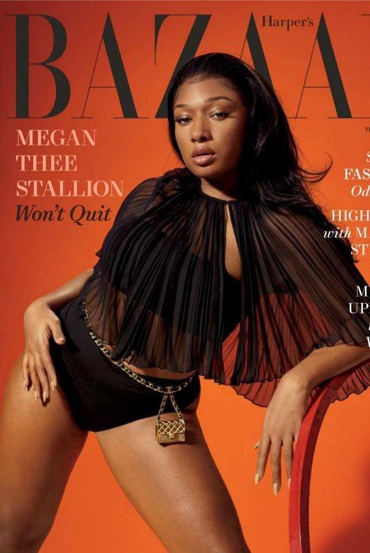 Megan Thee Stallion 'thả rông' táo bạo trên tạp chí ảnh 1