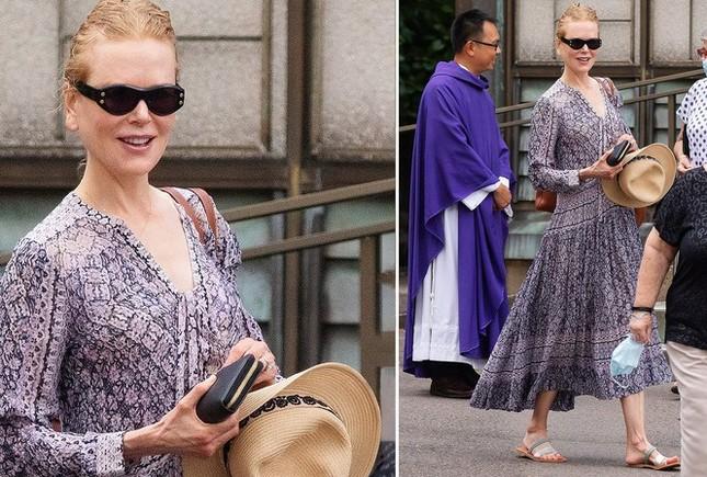 Nicole Kidman hiếm hoi khoe 2 con gái xinh đẹp tại Quả cầu Vàng ảnh 5