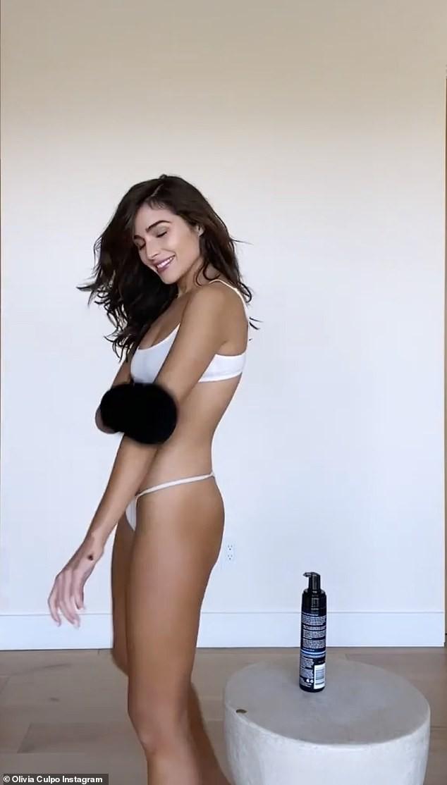 Hoa hậu Olivia Culpo nhí nhảnh với bikini, chia sẻ mắc bệnh lạc nội mạc tử cung ảnh 1