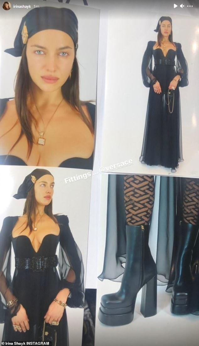 Siêu mẫu Nga Irina Shayk đẹp như nữ thần trên đường băng của Versace ảnh 6