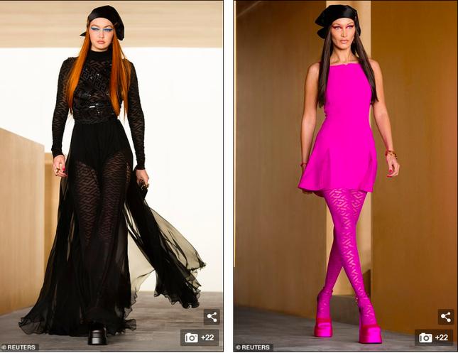 Siêu mẫu Nga Irina Shayk đẹp như nữ thần trên đường băng của Versace ảnh 8