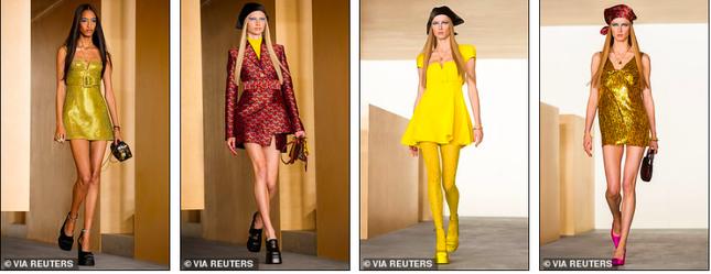 Siêu mẫu Nga Irina Shayk đẹp như nữ thần trên đường băng của Versace ảnh 12