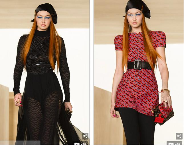 Siêu mẫu Nga Irina Shayk đẹp như nữ thần trên đường băng của Versace ảnh 10