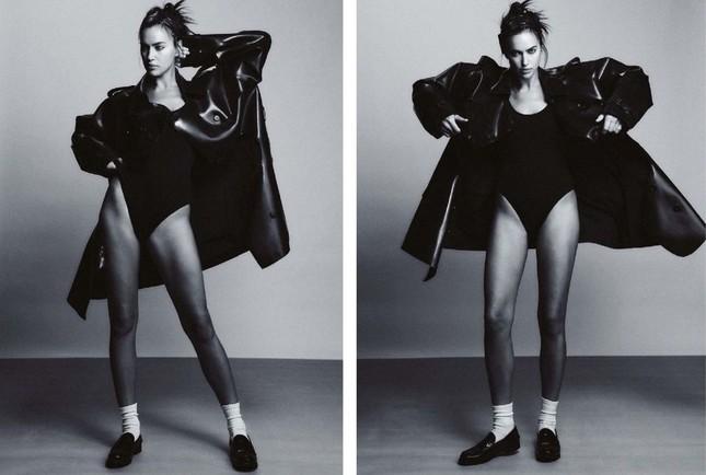 Siêu mẫu Nga Irina Shayk chụp ngực trần nóng 'bỏng mắt' ảnh 6