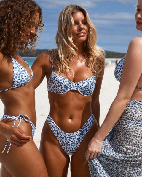 Chân dài 9x khoe body nóng bỏng có chỉ số 3 vòng 'vàng' với bikini ảnh 8