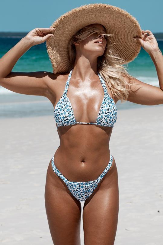 Chân dài 9x khoe body nóng bỏng có chỉ số 3 vòng 'vàng' với bikini ảnh 4