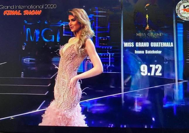 Người đẹp Mỹ đăng quang Miss Grand 2020, Ngọc Thảo dừng chân top 20 ảnh 13