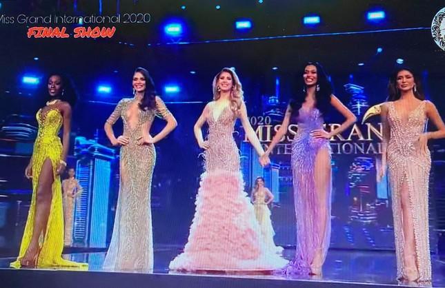 Người đẹp Mỹ đăng quang Miss Grand 2020, Ngọc Thảo dừng chân top 20 ảnh 16