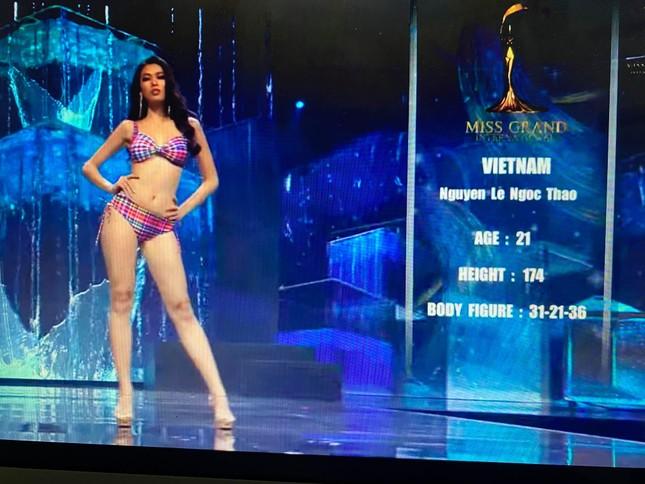 Người đẹp Mỹ đăng quang Miss Grand 2020, Ngọc Thảo dừng chân top 20 ảnh 3