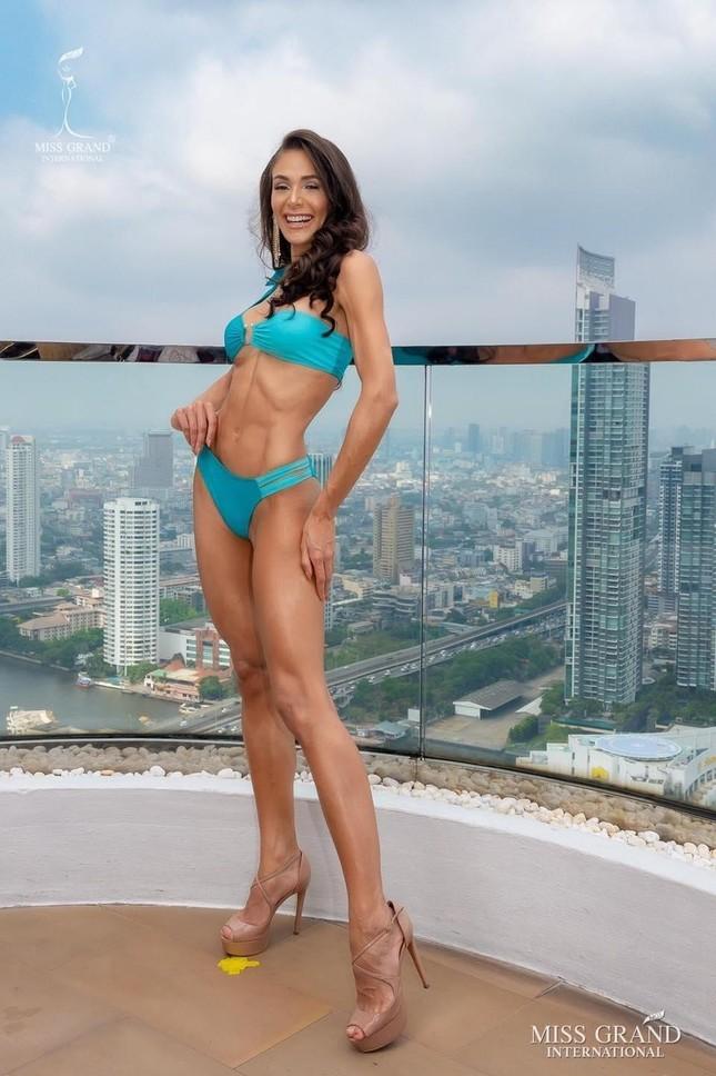 Người đẹp Mỹ đăng quang Miss Grand 2020, Ngọc Thảo dừng chân top 20 ảnh 5