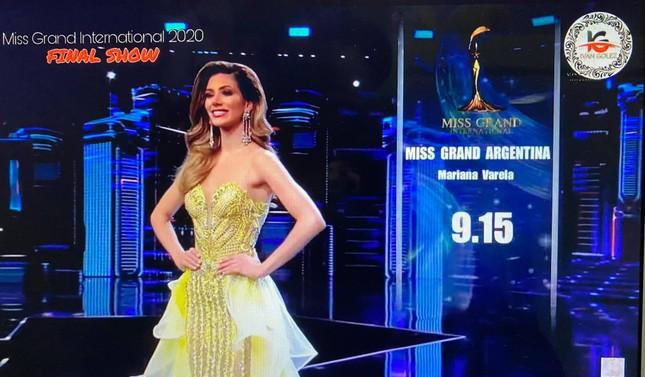 Người đẹp Mỹ đăng quang Miss Grand 2020, Ngọc Thảo dừng chân top 20 ảnh 12