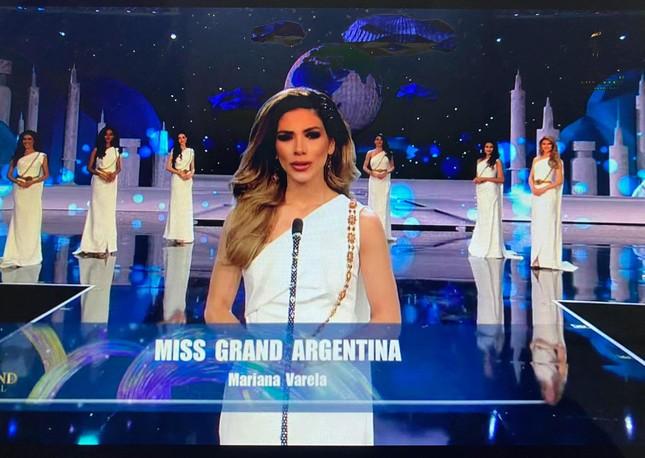 Người đẹp Mỹ đăng quang Miss Grand 2020, Ngọc Thảo dừng chân top 20 ảnh 6