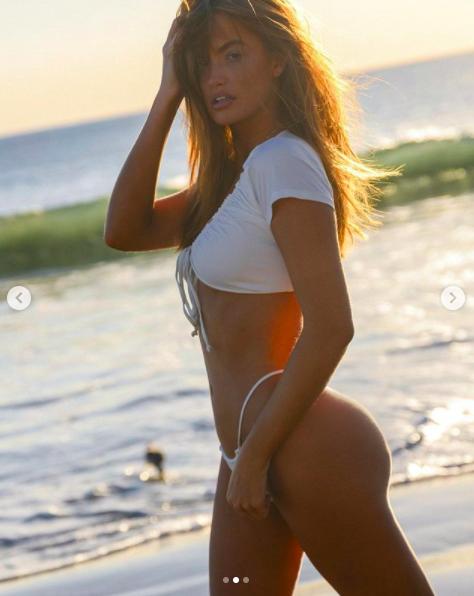 Mẫu nội y Haley Kalil khoe 3 vòng 'vàng' với bikini ảnh 8
