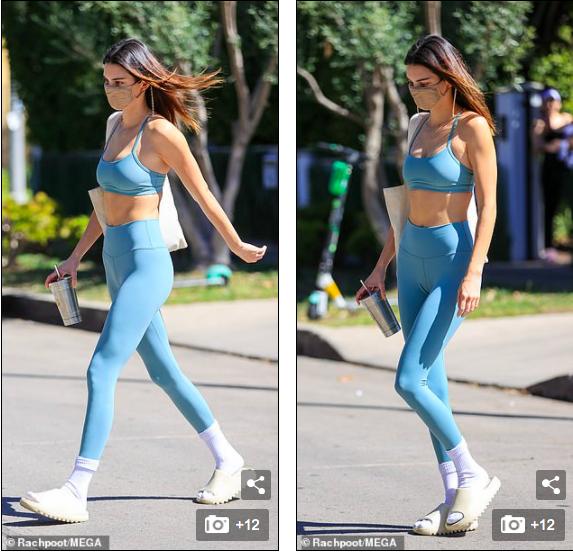 'Siêu mẫu đắt giá nhất thế giới' mặc đồ tập, khoe thân hình thon nuột nổi bật trên phố ảnh 6