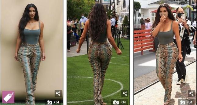 Giữa 'bão' ly hôn, Kim Kardashian vẫn miệt mài kinh doanh và không ngừng đăng ảnh gợi cảm ảnh 4