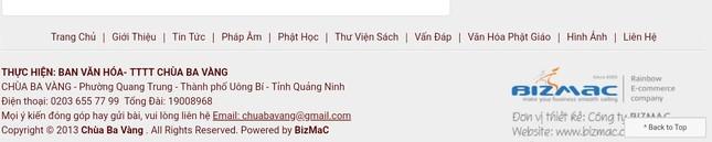 Hàng trăm bài viết 'gọi vong' và số tài khoản trên website chùa Ba Vàng biến mất ảnh 4