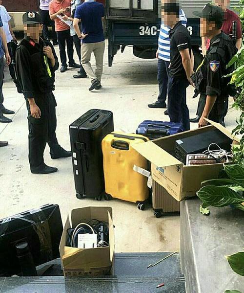 Bộ Công an đột kích 'sào huyệt' nhóm tội phạm công nghệ cao tại Quảng Ninh ảnh 2