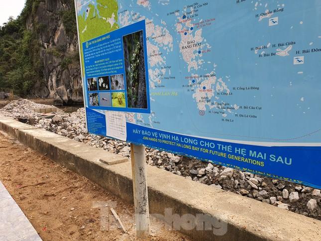 Phá núi đá thuộc quần thể di sản vịnh Hạ Long để mở đường ảnh 3
