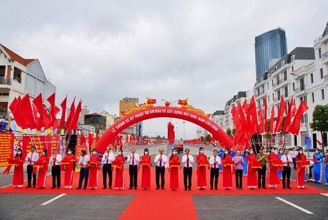 Thủ tướng dự lễ khởi công tuyến đường vào bãi cọc Cao Quỳ ảnh 3