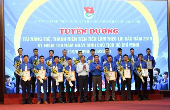 Đoàn Than Quảng Ninh tuyên dương thanh niên tiên tiến làm theo lời Bác ảnh 1