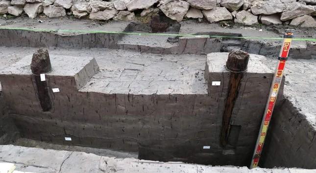 Thêm 37 cọc gỗ phát lộ được nhận định liên quan đến trận Bạch Đằng ảnh 6