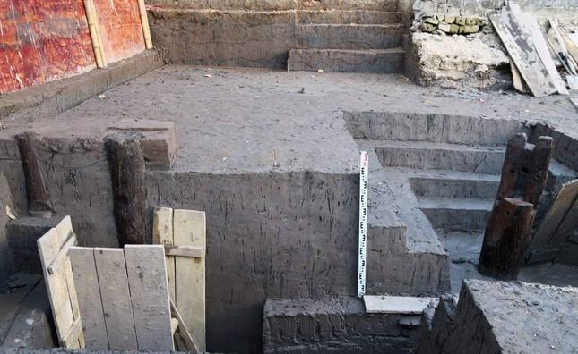 Thêm 37 cọc gỗ phát lộ được nhận định liên quan đến trận Bạch Đằng ảnh 5
