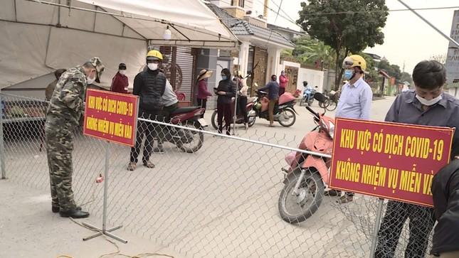 Phong tỏa thêm một xã thuộc thị xã Đông Triều ảnh 1