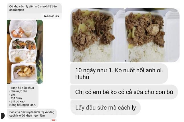 Vụ 'cắt xén' bữa ăn ở Quảng Ninh: Những tin nhắn từ khu cách ly ảnh 1