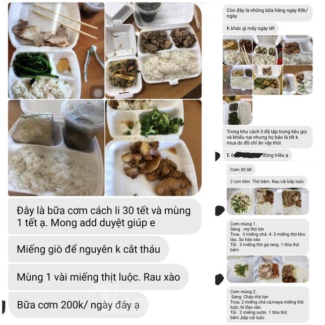 Vụ 'cắt xén' bữa ăn ở Quảng Ninh: Những tin nhắn từ khu cách ly ảnh 2