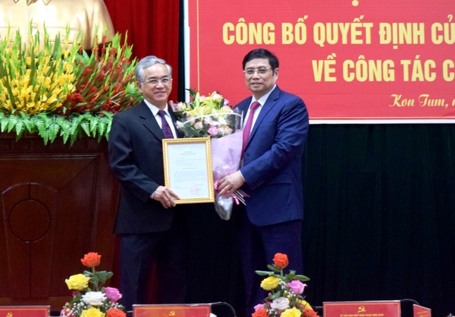 Ông Dương Văn Trang làm Bí thư Tỉnh ủy Kon Tum ảnh 1