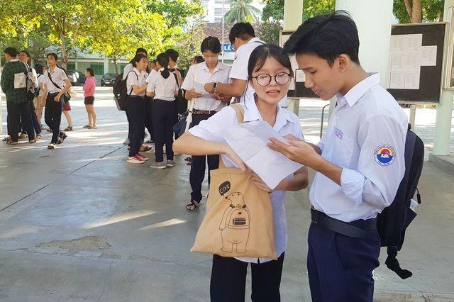 Khánh Hòa vừa công bố kết quả thi tuyển vào lớp 10 ảnh 1