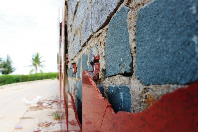 Công viên biển tiền tỉ ở Ninh Thuận hư hỏng ra sao? ảnh 9