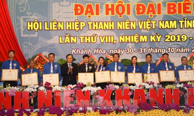Anh Bùi Hoài Nam tái đắc cử chủ tịch Hội LHTN Việt Nam tỉnh Khánh Hoà ảnh 2