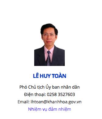 Phó Chủ tịch thành phố Nha Trang hầu tòa nhưng chưa mất chức ảnh 1