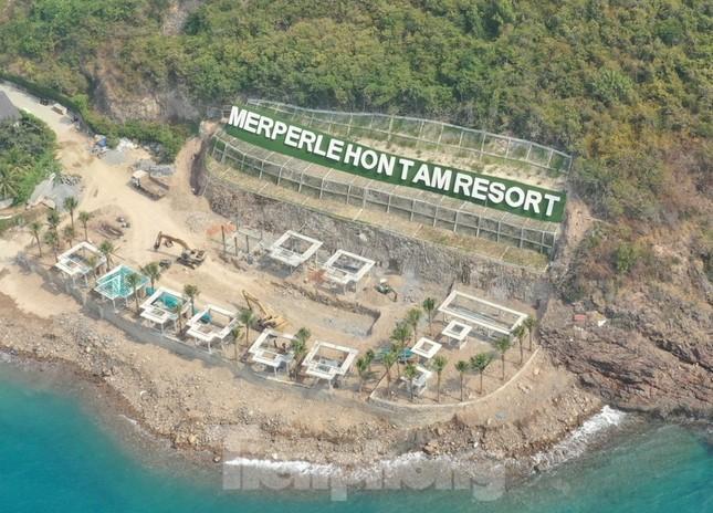 KDL đảo Hòn Tằm lấp đất đá ảnh hưởng nghiêm trọng hệ sinh thái biển ảnh 1