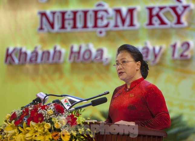 Chủ tịch Quốc hội: Khánh Hoà cần phải phát triển mạnh kinh tế biển ảnh 2
