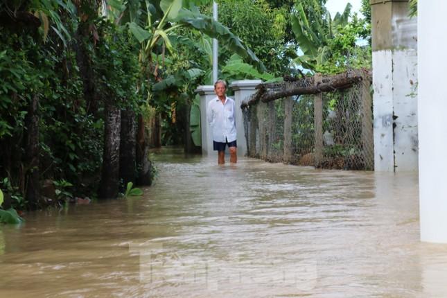 Bão tan nhưng dân phố biển Nha Trang vẫn bì bõm nơi nước ngập ảnh 6