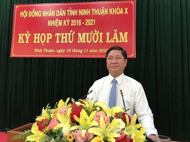Ông Trần Quốc Nam được bầu làm Chủ tịch tỉnh Ninh Thuận ảnh 1