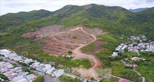Dự án khu biệt thự hướng biển ở Nha Trang làm trên đất rừng, không có trong quy hoạch ảnh 1