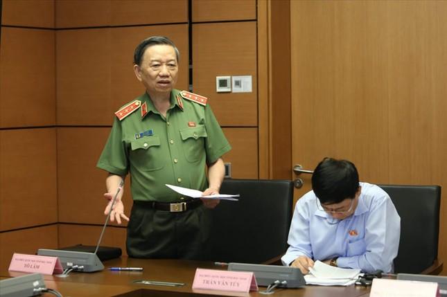 Không tăng cấp tướng khi sửa Luật Công an nhân dân ảnh 1