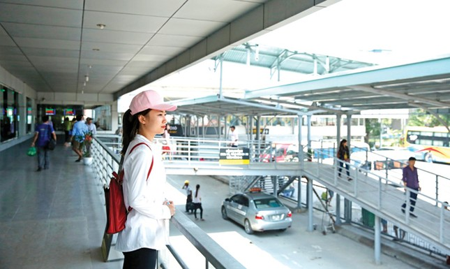 Bến xe Nước Ngầm nâng cấp tựa sân bay ảnh 1