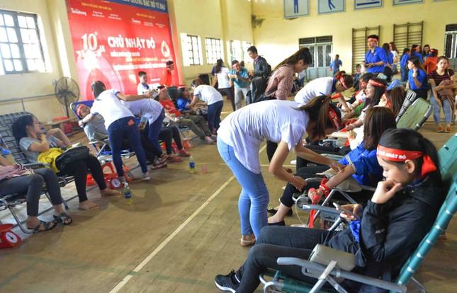 Đợt hiến máu lớn nhất, với 3.770 đơn vị máu quyên được ảnh 5